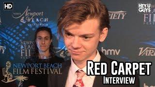 Thomas Brodie Sangster Red Carpet Interview - Newport Beach Film Festival 2018