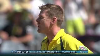 Virat Kohli 117 Runs vs Australia   IND vs AUS 3rd ODI 2016