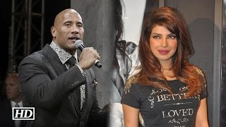 The Rock Comments On Priyanka Chopra's acting | Baywatch