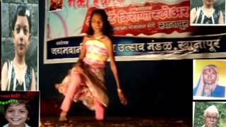 Prateeksha - posewadi  pratiksha jadhav hindi madhuri dixit  song dance  2014 khanapur.
