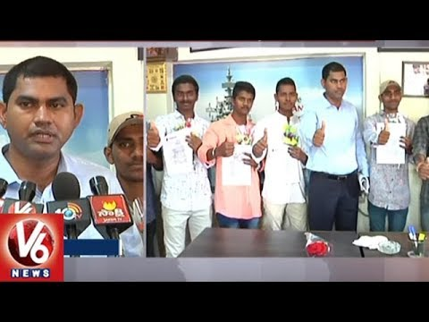 Tejas Defence Academy Students Selected For Indian Navy Jobs | Karimnagar | V6 News