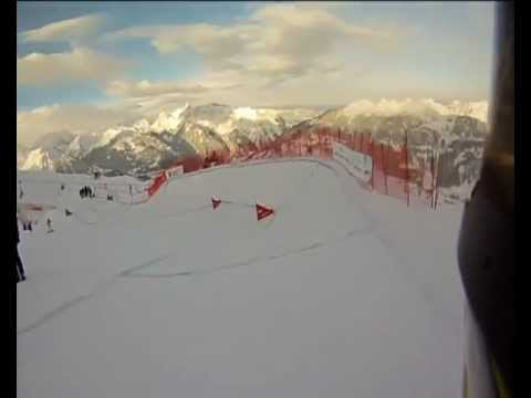 Snowboard crash in Montafon World Cup-Ivar Kruusenberg