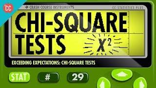 Chi-Square Tests: Crash Course Statistics #29