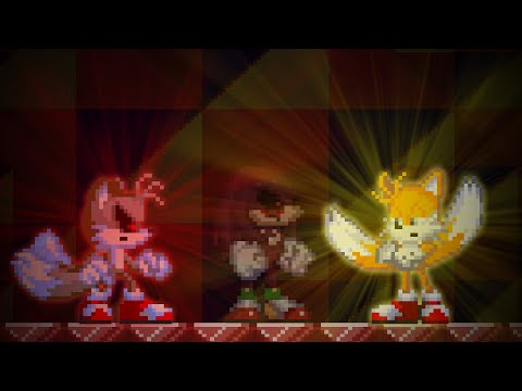 What happens if you will choose to help Sonic when Tails and Knuckles survives? Sonic.exe SoH
