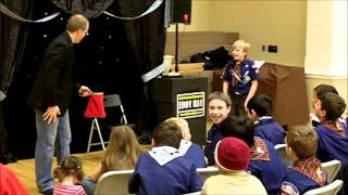 Cub Scout Magic Show - Comedy Magic with Volunteer
