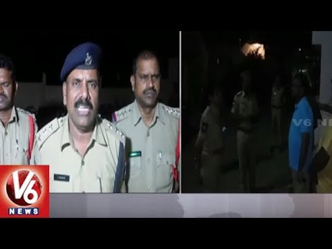Police Conducts Cordon Search Operation In Shankarpalli | Seizes 38 Vehicles | V6 News