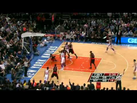 NBA Toronto Raptors vs New York Knicks | Tuesday, March 20, 2012 | L 87 - 106 Highlights
