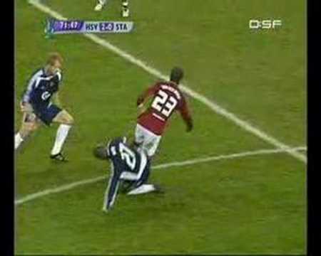 C.Ronaldo vs Rafael van der Vaart