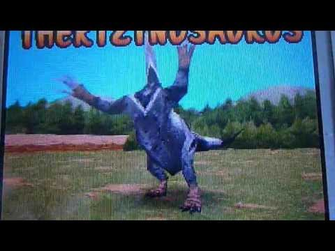 Dinosaur king ds Therizinosaurus - YouTube