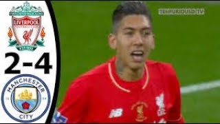 Liverpool vs Man City 1-1 (1-3) All Goals and EXT Highlights w/ English Commentary 2016 HD