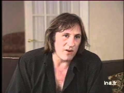 Gérard Depardieu et le métier d'acteur -1990