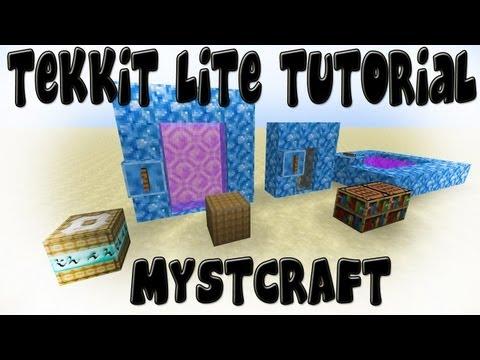 Mystcraft - Minecraft Tekkit Lite Tutorial
