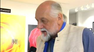 Mick Fleetwood (Fleetwood Mac) Exclusive Interview at Mouche Gallery, Beverly Hills