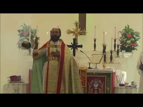 Rev. Viji T Kurikesu At Abu Dhabi Mar Thoma Church video