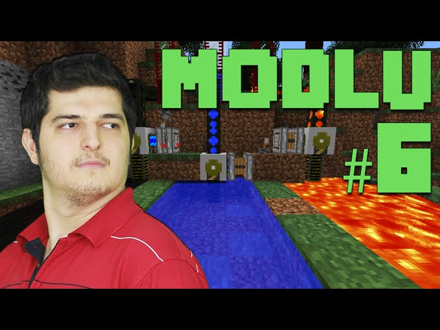 Modlu Minecraft #6 - BuildCraft Nimeti Yer Delici