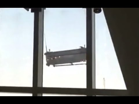Shanghai WFC Window-Cleaning Cradle Goes Wild