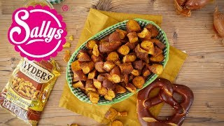 Snyders Pretzel / Brezel Snacks / Honey Mustard Onion/  nachgemacht: Original trifft Sally
