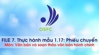#File 7 - Thực hành phiếu chuyển - osfcvn.com