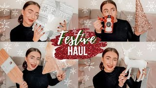 THE BEST HOME BARGAINS *CHRISTMAS* Home Decor Haul 2019 | Hazel Maria Wood