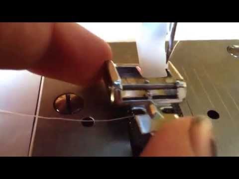 How to change the foot of a singer simple 3229