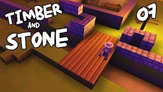 "Timber & Stone Ep 07 - ""Holy Cow A REAL Earthquake!!!"""
