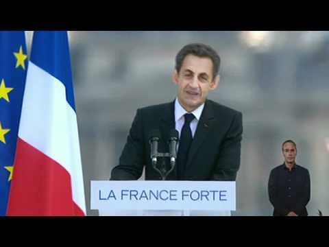 Discours de Nicolas Sarkozy au Trocadéro