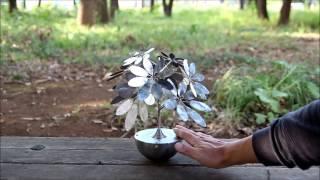 DIY 金属植物 カポック-1 Metallic Plants - Kapok