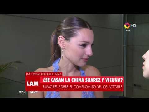 ¿Qué dijo Pampita de los rumores de casamiento entre Benja Vicuña y la China Suárez?
