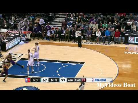 NBA 2012 2013 New Orleans Pelicans Anthony Davis Top 10 Plays Of The Season HD