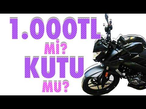 1000 TL Mi Yoksa Kutu Mu? - Motosiklet Ödüllü Yarışma
