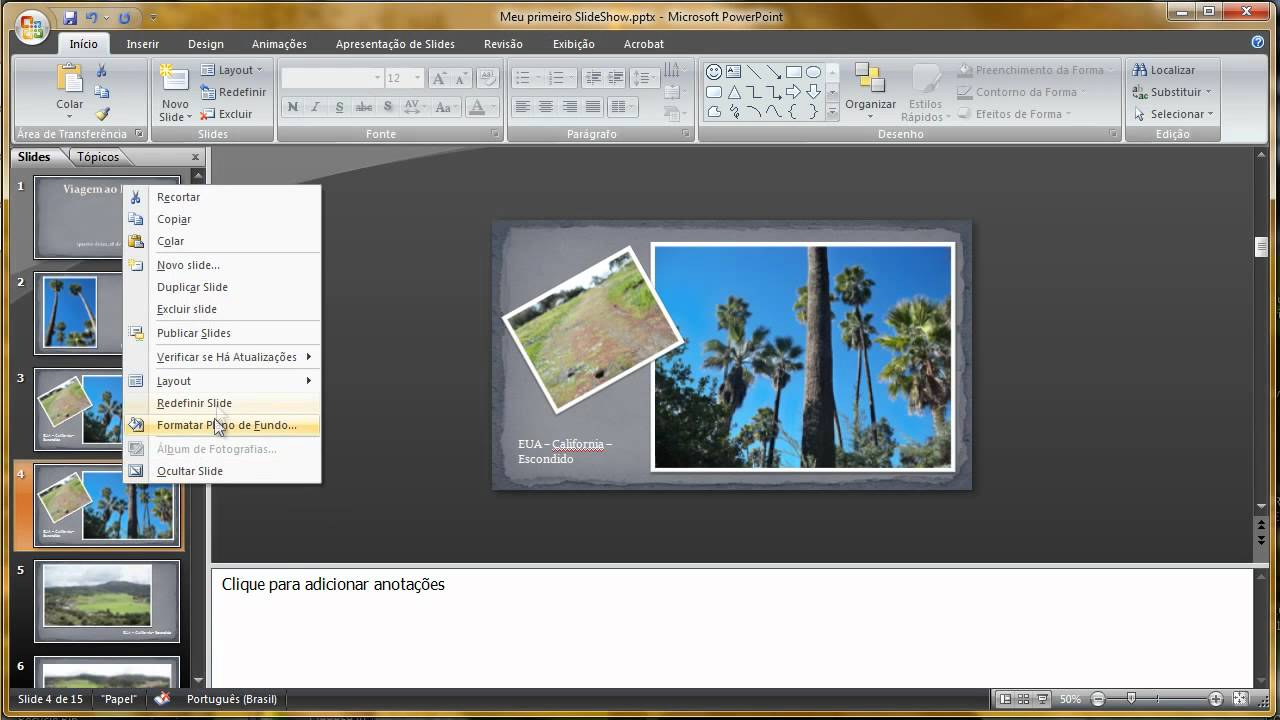 how to make powerpoint slideshow play automatically