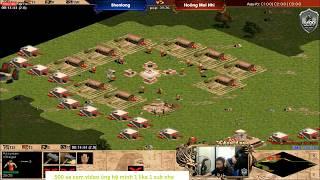 [Trực tiếp AOE] 2vs2 BiBi, Hồng Anh ——vs—— � 6699 : Shen Long, Ưng Tử
