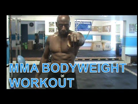 MMA BODYWEIGHT WORKOUT #4 Image 1