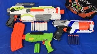 Box of Toy Guns for Children Nerf Blasters Toy Blasters Toy Weapons