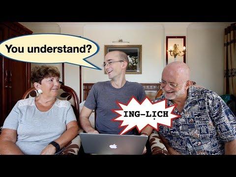 Khi người Mỹ nghe tiếng Anh của người Việt | dan hauer