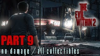The Evil Within 2 Walkthrough Part 9 - Lust for Art No Damage / All Collectibles