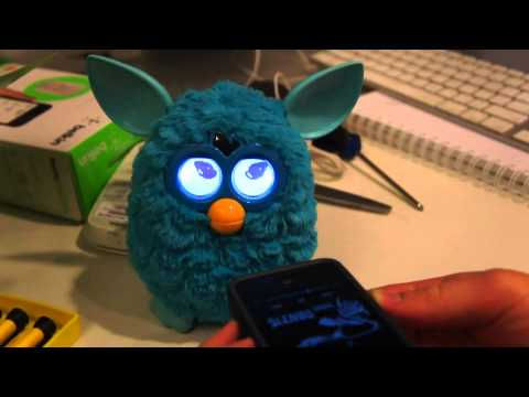 Furby Gets a Reboot For 2012   Engadget