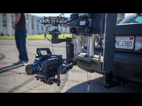 Filming MythBusters With A Custom Chase Car Camera Rig