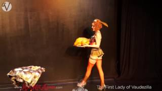 "Red Hot Annie - Chicago Burlesque ""Cold Turkey"" Thanksgiving Strip Tease"