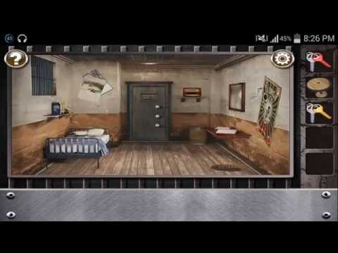 Escape The Prison Room Level 4 - Walkthrough