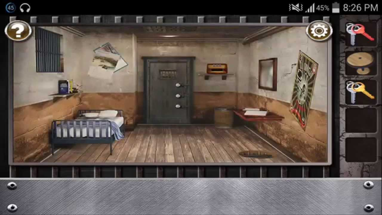 Escape The Prison Room Level 4 Walkthrough Youtube