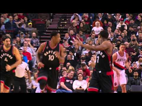 DeMar DeRozan and Kyle Lowry Lead Raptors Past Trail Blazers