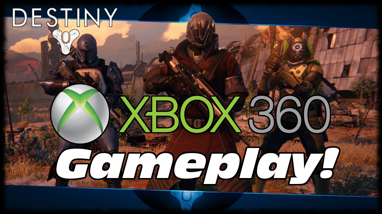 Destiny beta xbox 360 gameplay the first hour of destiny beta xbox