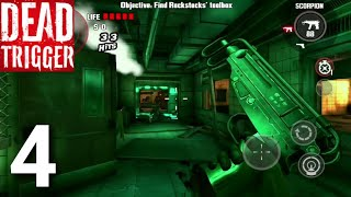 Dead Trigger: Offline Zombie Shooter PART 4 Gameplay Walkthrough - iOS/Android