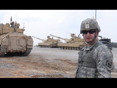 Combined Arms Live Fire Exercise - Camp Shelby Joint Forces Training Center!