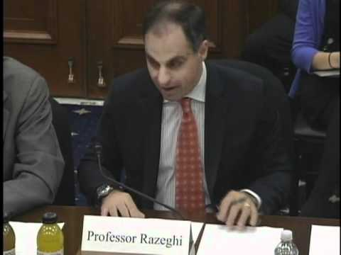 Andrew J. Razeghi s Opening Statement during the Entrepreneurship Hearing 3.21.12