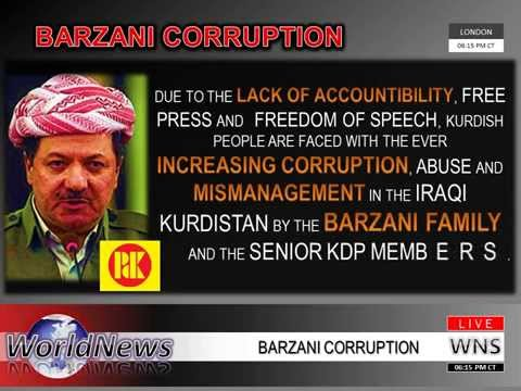 Barzani Corruption