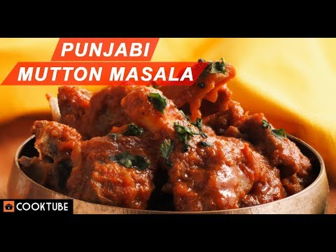 Punjabi Style Mutton Masala Recipe | Easy Meat Recipe With Gravy