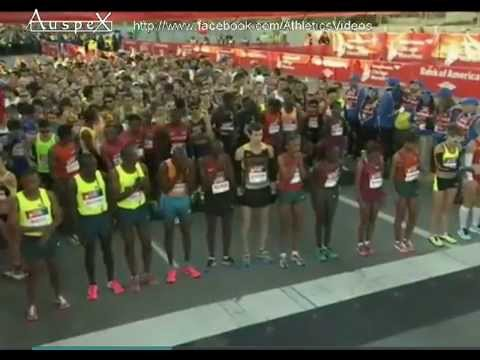 Chicago's marathon 2014 full race, Eliud Kipchoge 2h04.11