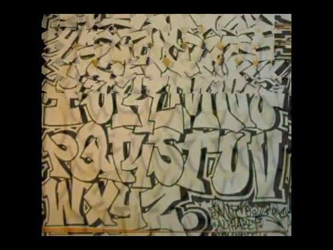 abecedarios en graffiti